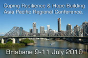 Coping Resilience & Hope Building, Asia Pacific Conference Brisbane